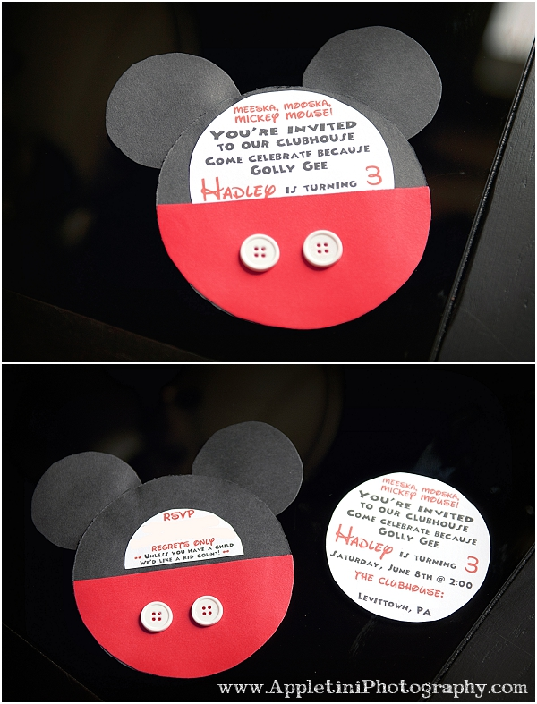 Mickey Mouse Party Invitation as nice invitation layout