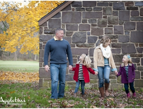 Fall Portrait Family Session | Tyler State Park