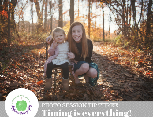 Timing is Everything! | Photo Session Tips