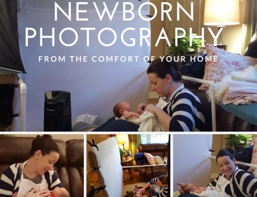 Behind the Scenes of an Appletini Newborn Session